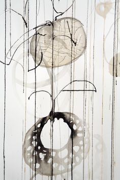"""Contemporary Drawing - """"detail-shadow"""" (Original Art from Rickie Wolfe)"""