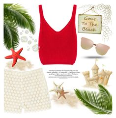 """""""Gone to the beach"""" by edita-m ❤ liked on Polyvore featuring Paul & Joe Sister"""