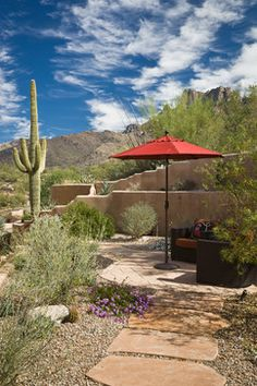 "Desert Sublime Ideabooks191	 ""IN THE GARDEN CONSERVENCY TOUR ON OCTOBER 5, 2013."" ""Front yard landscape idea"" ""herbs and ca..."