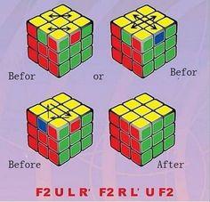 Solución del rubik