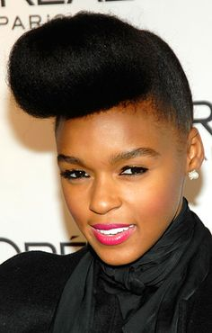 """The poof. A.K.A. """"The monae."""""""