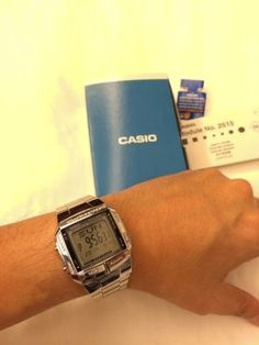 It's a classic because of a lot of reasons. Casio Watch, Digital Watch, Mens Fashion, Watches, Classic, Blog, Accessories, Moda Masculina, Derby