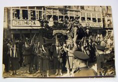 Murcia, Spain, Antique, Old Photography, Antique Photos, Street, Dinner, Cities, Flowers