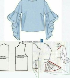 How to sew an umbrella dress Easy How to sew a reg . How to sew an umbrella dress Easy How to sew an umbrella dress Easy Sewing Dress, Sewing Sleeves, Dress Sewing Patterns, Clothing Patterns, Blouse Sewing Pattern, Kaftan Pattern, Blouse Patterns, Fashion Sewing, Diy Fashion