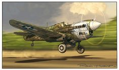 Boobs and Warbirds: the Art of Romain Hugault Ww2 Aircraft, Fighter Aircraft, Fighter Jets, Aviation Theme, Aviation Art, Military Art, Military History, Photo Avion, Airplane Art