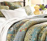 Neena patchwork quilt from Potterybarn.