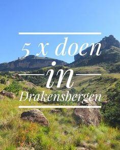 Tijdens een reis door Zuid Afrika mag een bezoek aan Drakensbergen niet ontbreken. In dit blog vind je 5 toffe dingen om te doen in Drakensbergen. Countries To Visit, Places To Visit, Cities In Africa, Kruger National Park, Ultimate Travel, Africa Travel, Where To Go, South Africa, Travel Inspiration