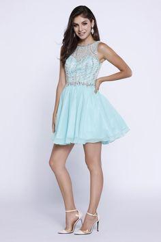 Pearl Beaded Chiffon Dress