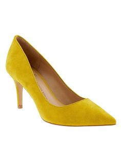 Annetta Pump from #BananaRepublic. I just bought them because they'll pop with whatever I wear.
