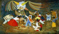 La piñata (Diego Rivera)