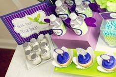 """Photo 7 of 11: Purple and Lime Whimsical / Birthday """"Tinkerbell Inspired Fairy Party"""" 