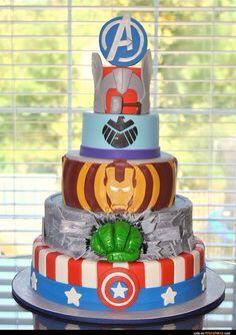 Super hero cake idea