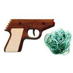 James Bond inspired PPK RUBBER BAND GUN