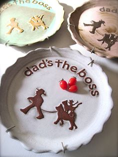 Dad's The Boss Large Plate* | por Hideminy New York