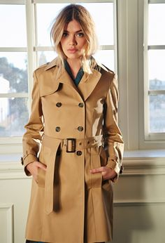 £42 Classic Belted Trench Coat - Jackets & Coats - 2000081583 - Forever 21 UK