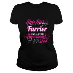 [Popular tshirt name meaning] Farrier Sweet Heart Teeshirt this month Hoodies, Funny Tee Shirts