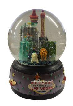 Las Vegas Skyline Snowglobe | Vegas Themed Souvenirs | Gamblers General Store