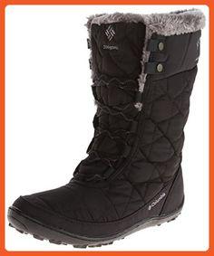 columbia womens minx mid ii omni heat snow boot black charcoal