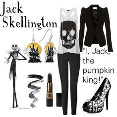 """""""Jack Skellington"""" by tottlebud on Polyvore"""