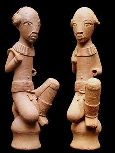 La civilisation Nok apparat au Nigeria 1000 ans avant J.C. et steint mystrieusement  la                       fin du premier millnaire.   On suppose que sa disparition  est due  une pidmie ou une famine                       dvastatrice. Elle apparat aujourdhui avoir t une             ...