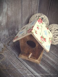Decopatch Little Birdhouse by iLoveCreations on Etsy, £8.90