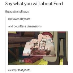 gravity animation Say what you will about Ford theaustinstollhaus: But over 30 years and countless dimensions He kept that photo. popular memes on the site Gravity Falls Comics, Gravity Falls Au, Disney Channel, Itachi, Spongebob, Dipper Y Mabel, Fall Tumblr, Gavity Falls, Fall Memes