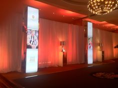 Sporting Medal Presentation Gala. Decor designed by Creative Director Michael Davey. Crown Palladium Melbourne Australia.