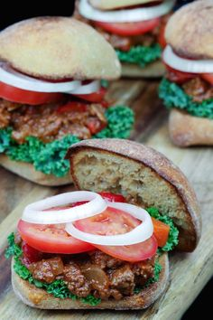 Whole Food Sloppy Joes, simple to make, and even simpler to defrost!. 1 bowl, 30 minutes, dinner done. | simplysissom.com