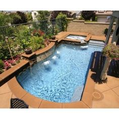 25 Sober Small Pool Ideas For Your Backyard | Pinterest | Backyard ...