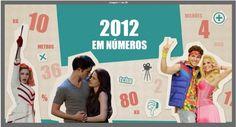 Celebrando 2012 com 6 infográficos interativos