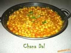 Chana Dal cícerové kari