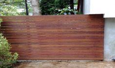 Znalezione obrazy dla zapytania drewniany płot nowoczesny