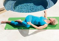 Spine Twist  http://www.prevention.com/fitness/yoga/10-yoga-poses-to-relieve-menopause-symptoms/spine-twist