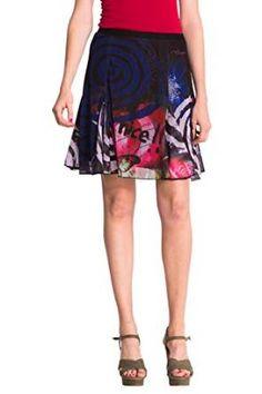 Desigual Women s Toledo Knitted Skirt Knee 4c3e49d83d0