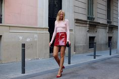 hanna_stefansson_red_shiny_skirt_pink_1