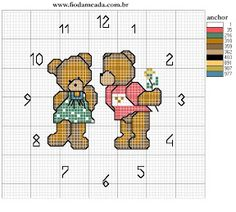 Clocks-Relógios-Montres-Relojes - LovingCrossStitch - Álbumes web de Picasa