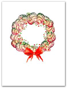 Vintage Greeting Card Blank Lang Main Street Press Keep Your Hearts Merry