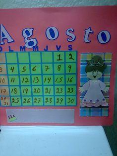 calendario niños