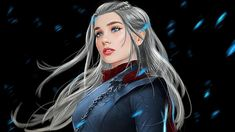 Game of Thrones - Daenerys Targaryen Game Of Thrones Series, Game Of Thrones Tv, Daenerys Targaryen, Khaleesi, Got Dragons, Mother Of Dragons, Game Of Throne Daenerys, I Love Games, Dark Queen