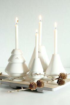 Kähler candle holders