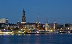 Nachts an der Elbe   pixelpiraten.net