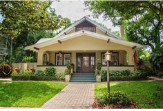 526 14th Avenue North East St Petersburg FL 33701; Old Northeast; Pinellas County; 4 bedrooms, 3 bathrooms; Arts and Crafts Bungalow; 2 car garage; waterfront; wood burning fireplace; More pictures of this beautifully restored Tampa Bay #bungalow on website.
