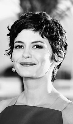 French Hairstyles For Short Hair - Wavy Pixie