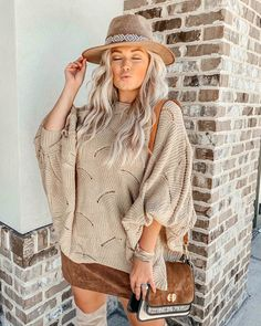 Shop Your Screenshots™ with LIKEtoKNOW.it, a shopping discovery app that allows you to instantly shop your favorite influencer pics across social media and the mobile web. Autumn Fashion Casual, Casual Fall Outfits, Preppy Southern, Fall Sweaters, Feels, Shopping, Clothes, Dresses, Neutral