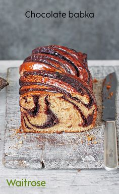 Originating from Poland and Babka meaning 'grandmother' in Polish, this Eastern European classic is hearty, warming and most definitely comforting. Get the recipe on the Waitrose website. Polish Bread Recipe, Polish Recipes, Polish Food, Eastern European Recipes, European Cuisine, Cake Recipes, Dessert Recipes, Cheap Recipes, Loaf Recipes