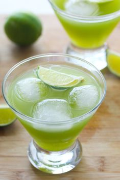 Only 3 ingredients in this refreshing limeade with a hint of cucumber for a sensational and refreshing taste.
