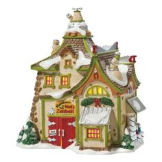 $67.00-$80.00 Department 56 Villages set the gold standard for Holiday lit houses. Santa and his elves live at the North Pole, and it is there that all things Christmas are made. Inspired by this magic, charming legend, our porcelain North Pole Series of collectible porcelain lit houses and accessories bring Christmas dreams to life for the young and young-at-heart.