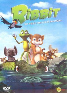 """""""Ribbit. Una pequeña rana con un gran dilema"""" Chuck Powers"""