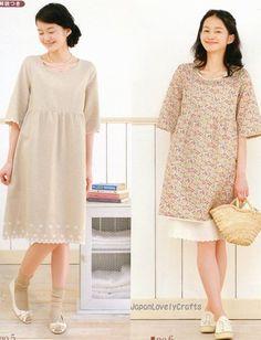 My First OnePiece Dress & Tunic  Japanese by JapanLovelyCrafts, $17.00