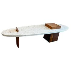 Harvey Prober Terrazzo Coffee Table, 1968. Terrazzo can last a long time due to its durable surface. It is a sustainable material as well. Terrazzo can create many objects. Learn more today by visiting our website at www.terrazzco.com